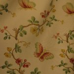 Beautiful fabric curtains decorate your room.