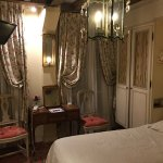 Twin room, fifth floor, front-facing. Exquistie, cosy and forever memorable.