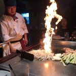 The Teppanyaki chef was fun and entertaining