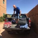 Cargando el coche