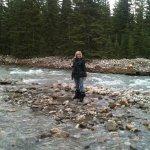 Bow river little walk... near lake louise