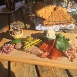 Superbe Charcuterie board for share!