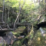 Lost River Gorge and Boulder Caves照片