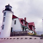 Lighthouse plus Keeper's Quarters