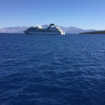 Our beautiful Seabourn Odyssey in Dubrovnik