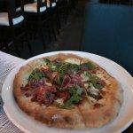 Delicious pizza!