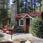 View of our lovely cabin