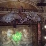 stage set for Wicked