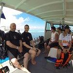 barco, a caminho de isla mujeres