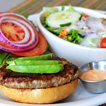San Diego Turkey Burger