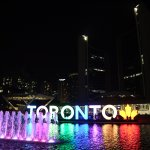 famous colorful toronto sign