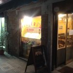 charming pizza restaurant with rear courtyard