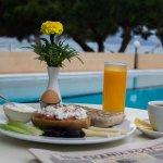 Traditional Cretan breakfast