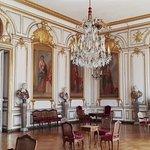 Salones del museo de arte decorativo.