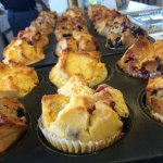 Our freshly baked muffins