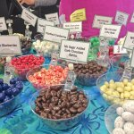 Sample Table-Delicious Chocolate covered Dried Berries