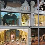 Colleen Moore's Fairy Castle from one side
