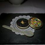 Tartare di Gamberi e Caviale - caviar, moloka`i ama ebi, light yuzu vinaigrette