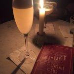 Candlelit dinner/drinks