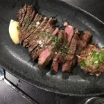This is the Koji New York Strip Steak. It's described in my review.
