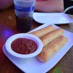 Cheesy Stuf't Breadsticks