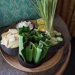 Lemongrass bath ingredients