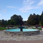 Fountain inside the Garden