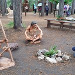 Денисовский человек в Парке динозавров