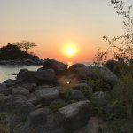 Beautiful lodge blended into the shore of Lake Malawi