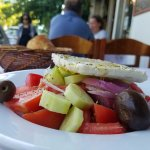Giant Greek salad.