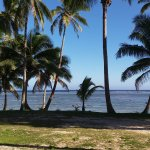 View from beachfront bure