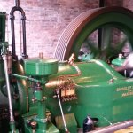 A working gas engine