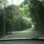 Going toward parking