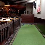 Indoor Bocce Ball Court