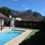 Pool with view of Table Mountain