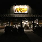 Cracker Barrel at Battle Creek just before closing time.