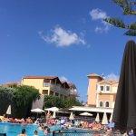 The Contessina and beach