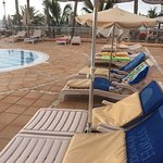 Do not book this hotel  Not a chance of a sun bed near the children's pool unless you get up at