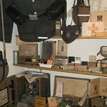 Display of German uniform and equipment