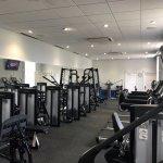 Newly refurbished gym