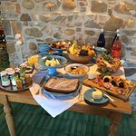 Breakfast spread - all organic!
