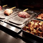Our freshly prepared Sunday roasts accompanied with all you can eat trimmings.