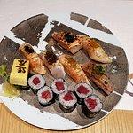The sushi set