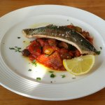 Pan Fried Trout with Caponata - Main