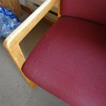 chairs stained