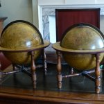 The globes dating approx 1700-1800