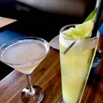 Anjou Pear Martini & The Plantation Pineapple Cooler
