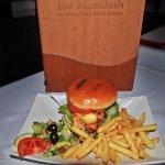 Chicken and Haloumi Burger