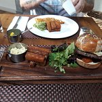 The Mansion House burger - -YUMMY!