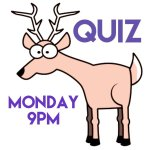 The Quiz in aid of Oakhaven Hospice every Monday at 9pm